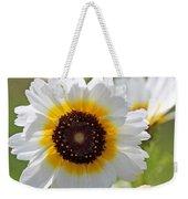 Chrysanthemum Named Polar Star Weekender Tote Bag
