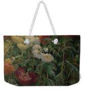 Chrysanthemums In The Garden At Petit-gennevilliers Weekender Tote Bag