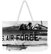 Chuck Yeager, Usaf Officer And Test Weekender Tote Bag