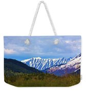 Chugach National Forest  Weekender Tote Bag