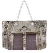 Church Entrance Weekender Tote Bag