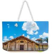 Church In San Javier, Bolivia Weekender Tote Bag