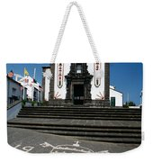 Church In The Azores Weekender Tote Bag