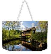 Cilleyville Bridge Weekender Tote Bag