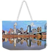 Cincinnati Reflects Weekender Tote Bag