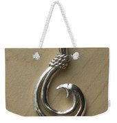 Circle Hook Pendant Weekender Tote Bag