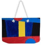 Circles Lines Color #5 Weekender Tote Bag