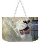 Circus Lion Weekender Tote Bag