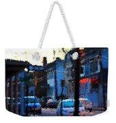 City As A Painting Weekender Tote Bag