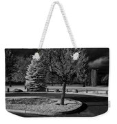 City Beach In Infrared Weekender Tote Bag