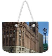 City Hall And Lamp Post Weekender Tote Bag