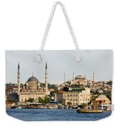 City Of Istanbul Weekender Tote Bag