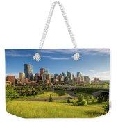 City Skyline Of Calgary, Canada Weekender Tote Bag