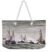 Civil War: Naval Battle Weekender Tote Bag