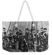 Civil War: Uss Kearsarge Weekender Tote Bag