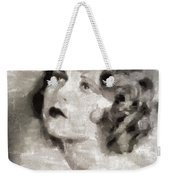 Clara Bow Vintage Hollywood Actress Weekender Tote Bag