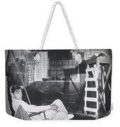 Clark Gable Mgm Sound Stage Circa 1932-2008 Weekender Tote Bag