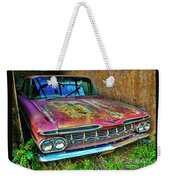Classic Chevy Weekender Tote Bag