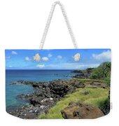 Clear Blue Ocean Weekender Tote Bag