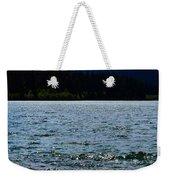 Clear Lake Washington Weekender Tote Bag
