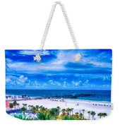 Clearwater Beach, Florida Weekender Tote Bag