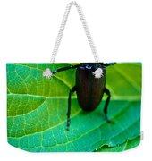 Climbing Beetle Weekender Tote Bag