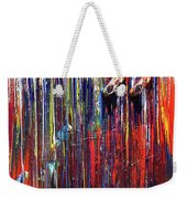 Climbing The Wall Weekender Tote Bag