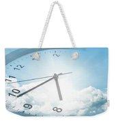 Clock In Sky 2 Weekender Tote Bag