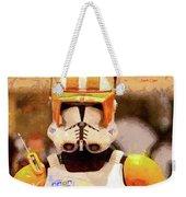 Clone Trooper Commander - Free Style Style Weekender Tote Bag