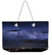 Cloud To Cloud Lightning Boulder County Colorado Weekender Tote Bag