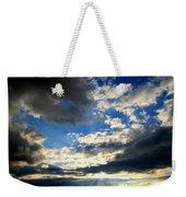 Clouded Sun Rays Weekender Tote Bag