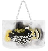 Clown Triggerfish No 01 Weekender Tote Bag