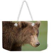 Coastal Brown Bear Weekender Tote Bag