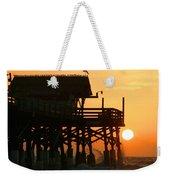 Cocoa Beach Pier/sunrise Weekender Tote Bag