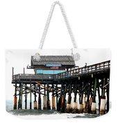 Cocoa Beach Pier Weekender Tote Bag