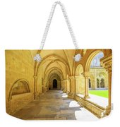 Coimbra Cathedral Colonnade Weekender Tote Bag