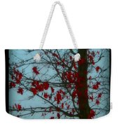 Cold Day In Winter Weekender Tote Bag