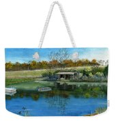 Cole Hill Pond Weekender Tote Bag