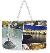 Collage Of Cordoba  Weekender Tote Bag