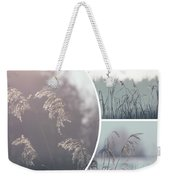Collage Of Winter Time In Poland. Weekender Tote Bag