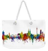Cologne Germany Skyline Weekender Tote Bag