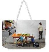 Colombia Fruit Cart Weekender Tote Bag