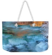 Color Of Winter Weekender Tote Bag