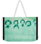 Color Prints Weekender Tote Bag