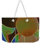Colored Bubbles Weekender Tote Bag