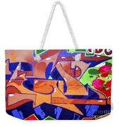 Colorful Abstract Street Art  Weekender Tote Bag