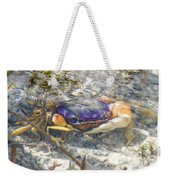Colorful Crabstract 2 Weekender Tote Bag