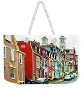 Colorful Houses In St. Johns In Newfoundland Weekender Tote Bag