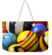 Colorful Marbles Weekender Tote Bag