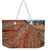 Colorful Sandstone Wave In Valley Of Fire Weekender Tote Bag